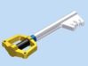 Keyblade 3d printed Render