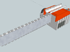 Chainsaw Bayonet 3d printed