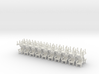 Parlor Chairs HO Scale in SWF X40 3d printed