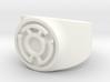 Sinestro Yellow Fear GL Ring Sz 9 3d printed