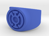 Blue Hope GL Ring Sz 9 3d printed