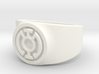 Blue Hope GL Ring Sz 15 3d printed