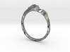Shard Ring Asymmetrical 3d printed