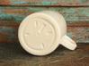 Hidden Sand Dollar Mug 3d printed