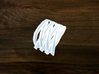 Turk's Head Knot Ring 7 Part X 3 Bight - Size 8 3d printed
