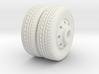 1/87 ho Seagrave Pumper Rear Wheels 3d printed