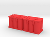 Optima Style 1:10 Scale Battery  **2 Each** 3d printed