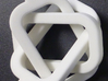 female/female Borromean rings 3d printed If one ring is broken, the other two will fall apart.