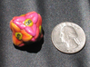 Flower D8 (Small) 3d printed After giving it a spray on clear coat.