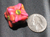 Flower D6 (Small) 3d printed After giving it a spray on clear coat.
