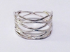Grid Ring Size 9 (All Sizes) 3d printed