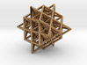 Isometric Vector Matrix - 64 Tetrahedron Grid  3d printed