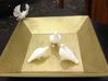 Bird No 4 (Doves) 3d printed Front View