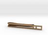 Minimalist Tie Bar - Double Bar 3d printed