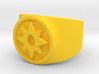 Love Star Saphire GL Ring Sz 9 3d printed