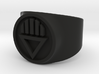 Black Death GL Ring Sz 7 3d printed