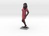Woman In Dress - Denver Startup Week 2014 3d printed