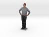 Man With Hands On Hips 6 - Denver Startup Week 201 3d printed
