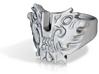Monster head ring 3d printed