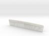 Pocket Comb, 5 inch, Coarse/Fine 3d printed
