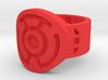 Sinestro FF Ring (Sz's 5-15) 3d printed