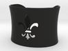 Small Fleur De Lis Bangle 3d printed