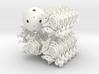 FTI radiolarian 2 - face turning icosahedron 3d printed