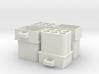 Replica Molex Connector C-1-163035 3d printed