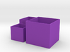 Cube Planter 3-piece Collection 1:12 scale 3d printed