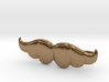 """Brazilian"" Moustache Tie Bar (Metals) 3d printed"