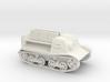 Komsomoletz Armored Tractor 1/87 (HO) scale 3d printed