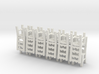 Ladderback Chairs HO Scale X12 3d printed