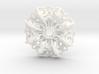 Mandala Flow Pendant 3d printed