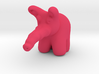 Pink Elephant from Dumbo 3d printed