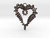 Heart of my Soul Pendant 3d printed