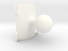 "Roll hoop clamp 1"" solid ball Atom RAM mount 3d printed"