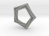 Pentagonal Pendant or Ring 3d printed