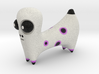 White Spotted Animal 3d printed