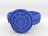Blue Lantern Double Banded (Sz 5-15) 3d printed