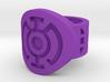 Blue Hope FF Ring Sz 6 3d printed