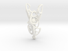 Dreamweaver Pendant 3d printed