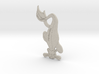 Fel Kalp Pendant 3d printed
