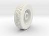 HO 1/87 Pierce Platform Front Wheels  3d printed