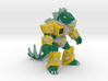 Stab-Happy Stegosaur (Color Sandstone) 3d printed