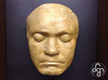 Beethoven's Life Mask [6cm] Hollow 3d printed Beethoven's Life Mask (Original Plaster Copy)