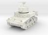 PV29 M3 Stuart - late turret (1/48) 3d printed