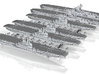 1/2400 UKCV Illustrious(x4) + KMCV GrafZeppelin(x2 3d printed