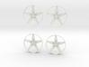 """5-Spoke Insert #01 for 18"""" Modular Wheel 3d printed"""