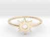 Sun Midi Ring 3d printed