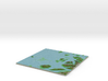 Terrafab generated model Mon Oct 13 2014 21:07:36  3d printed